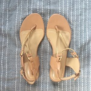 Me Too melrose style nude sandals